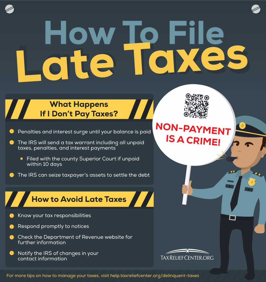 Delinquent Taxes | Delinquent Taxes: How To Pay Off Late Taxes [INFOGRAPHIC]
