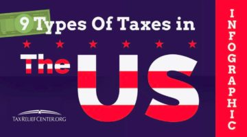 Featured | Types of Taxes We Pay in the US [INFOGRAPHIC] | Tax Relief Center