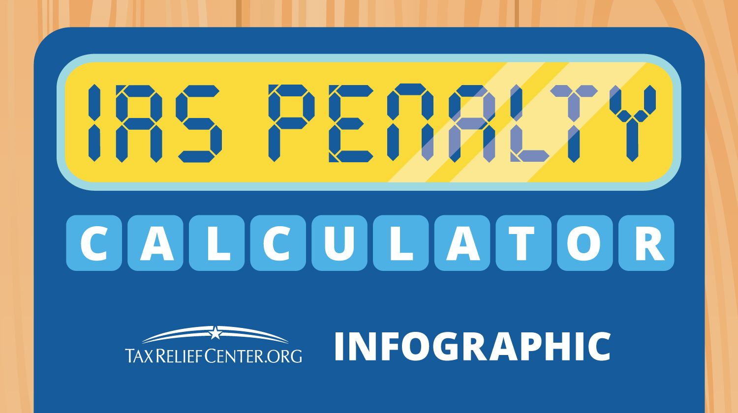 IRS Penalty Calculator: Breaking Down Your IRS Late Fees [INFOGRAPHIC]